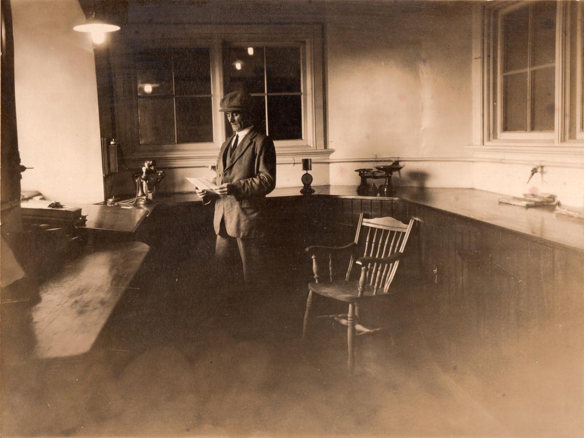 Clerk In Office 1910s