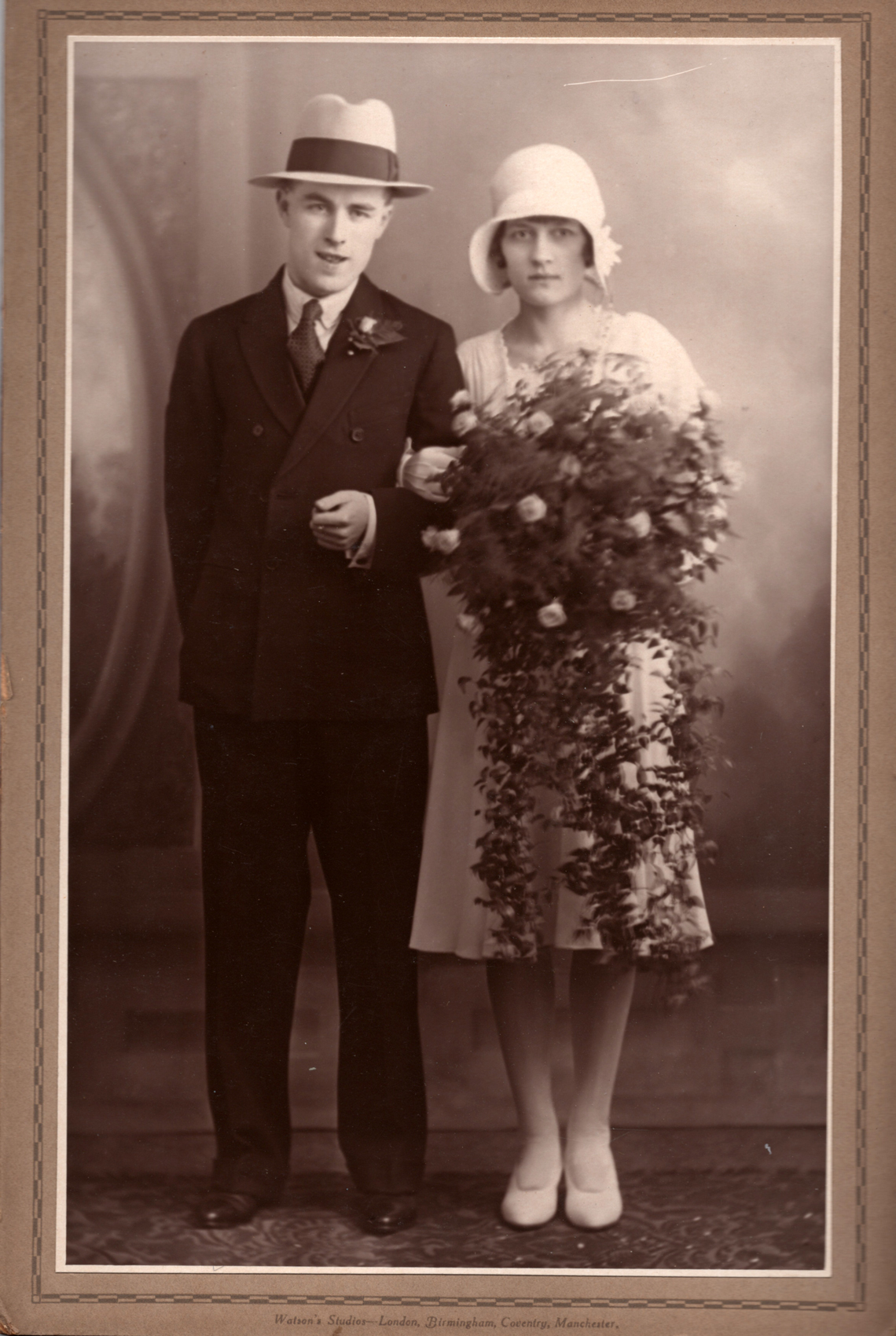 Newly-Wed Couple, late 1920s