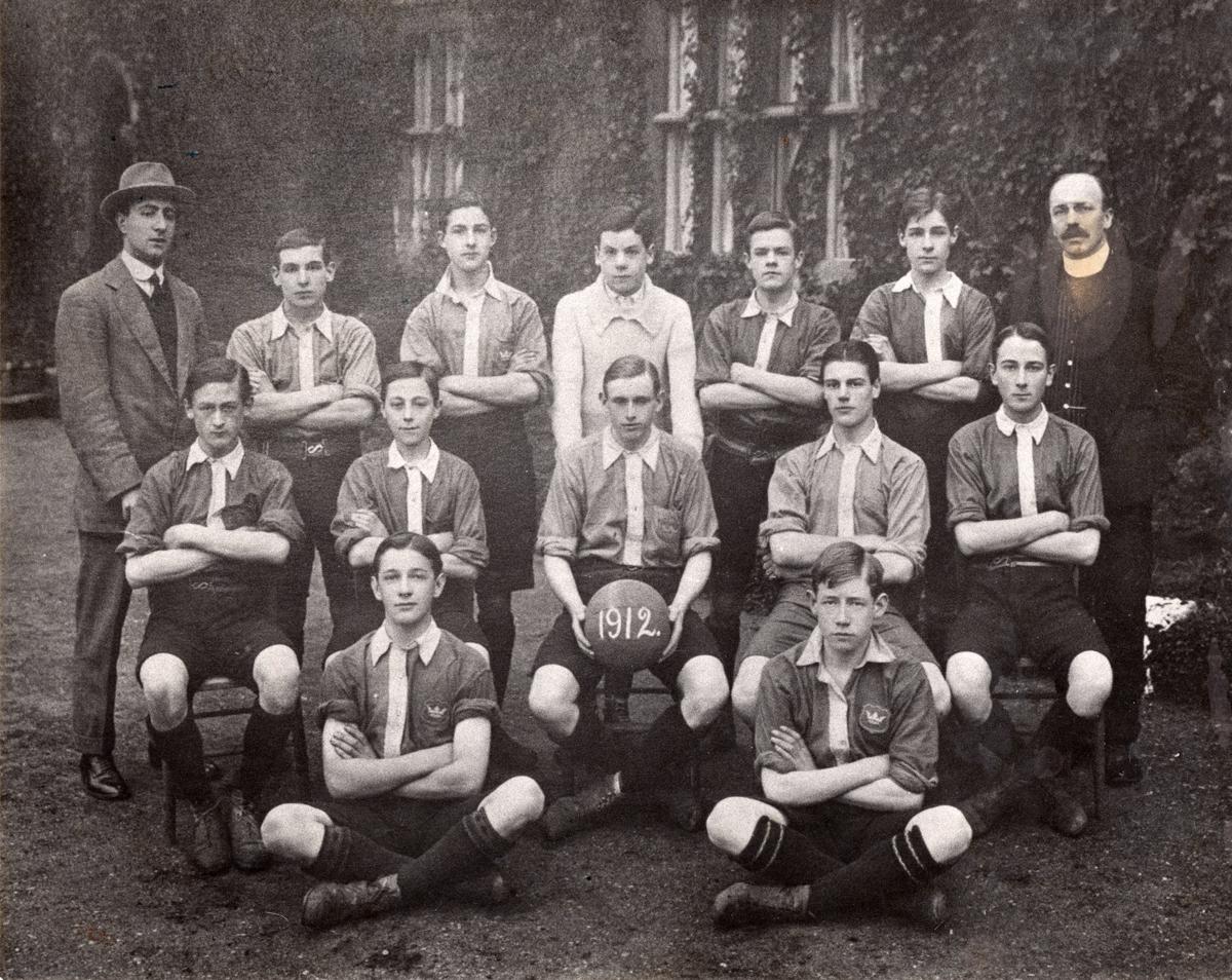 Unidentified School Football Team 1912