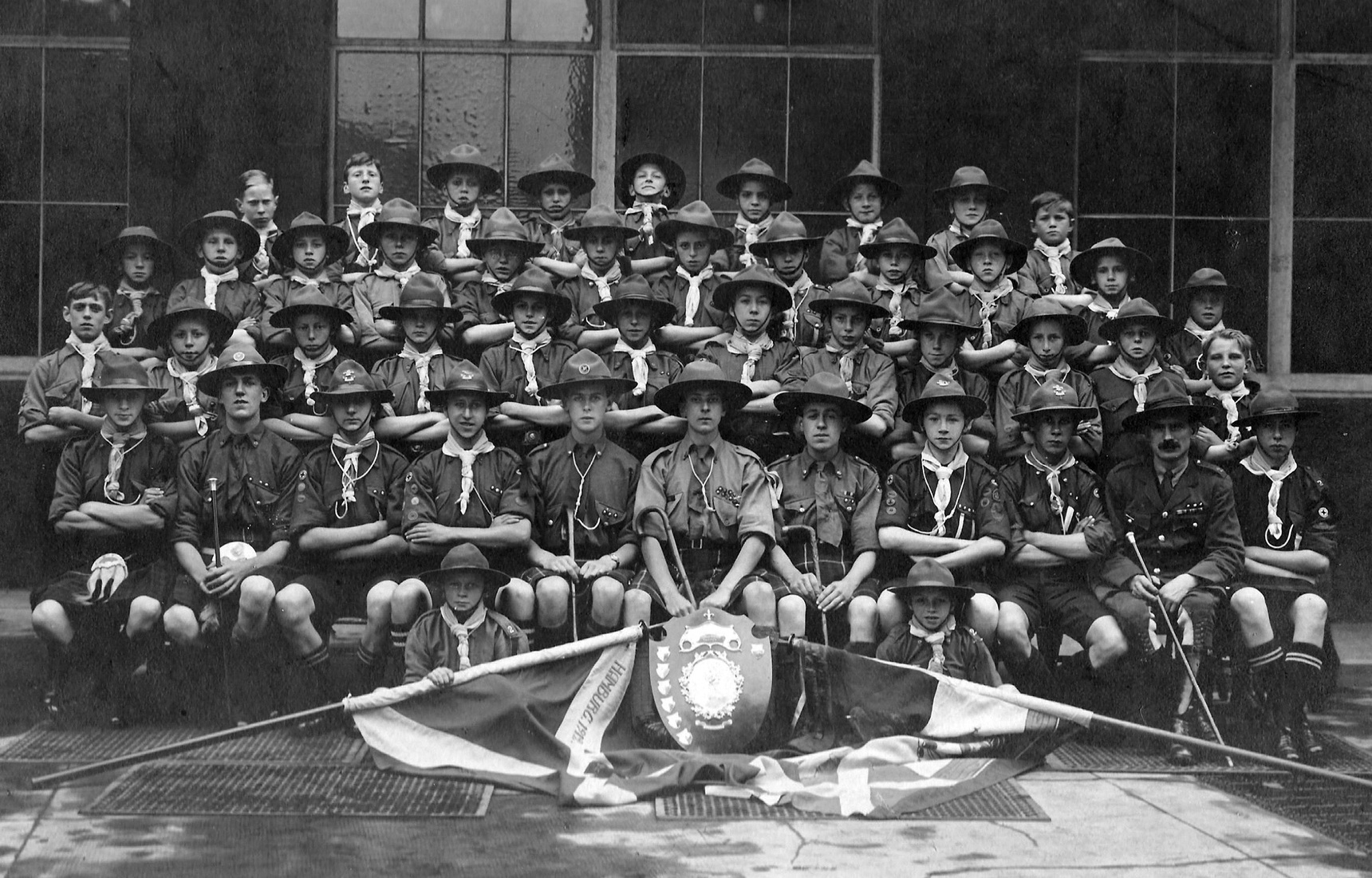 Leith Scout Group 1930s