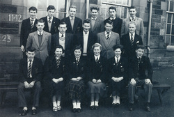 Broughton High School Class 4 (B, C, ORD) 1958