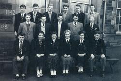 Broughton High School Class 4 (B, C, ORD) 1958