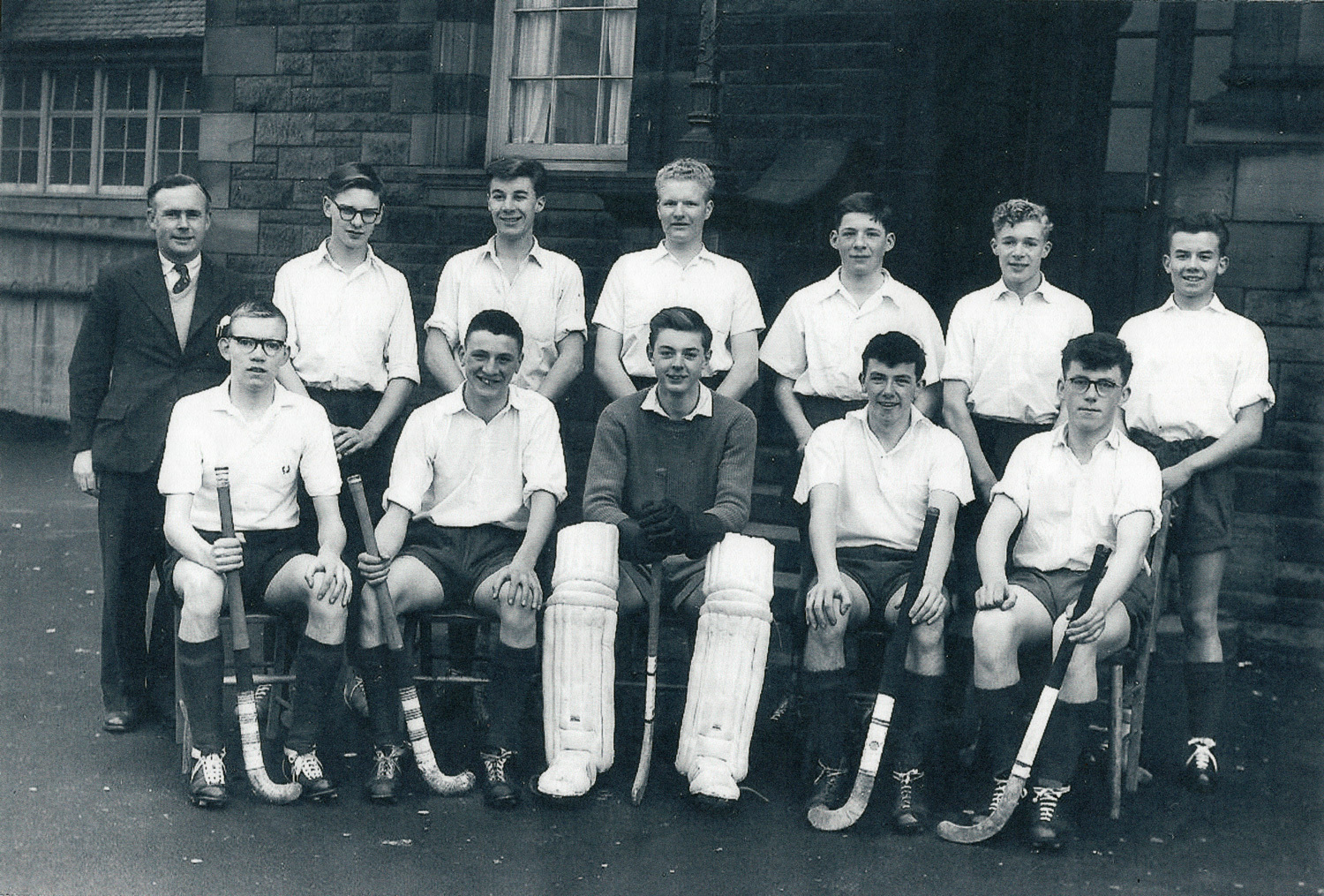 Broughton High School Boys Hockey Team 1959