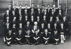 Broughton High School Class 6 1958