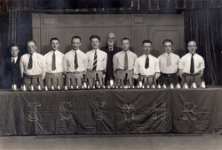 Jane Street Mission Bell-Ringing Group 1930s