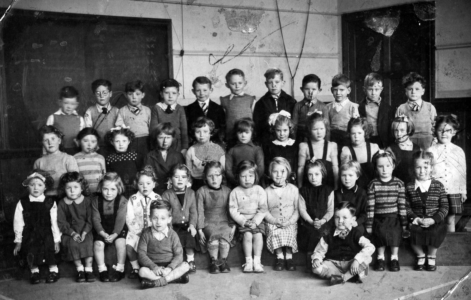 Lochend Public School Primary One Class 1952