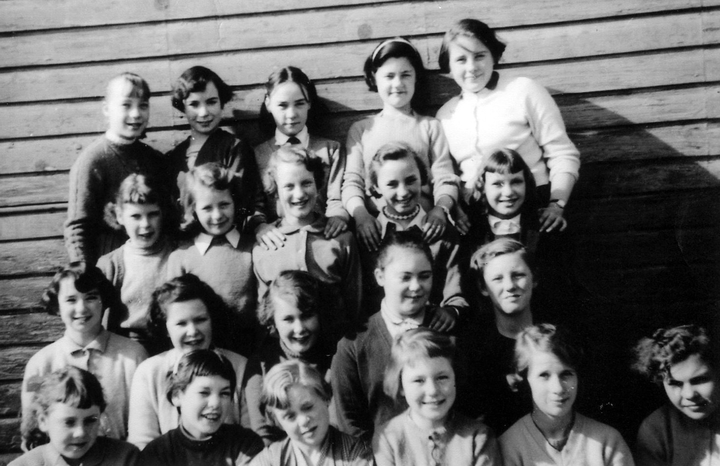 Hermitage Park School Class Portrait 1957