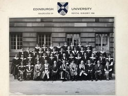 Edinburgh University Dental School Graduates 1966.