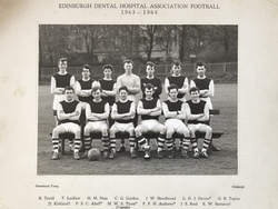 Edinburgh Dental Hospital Football Team 1963-4.