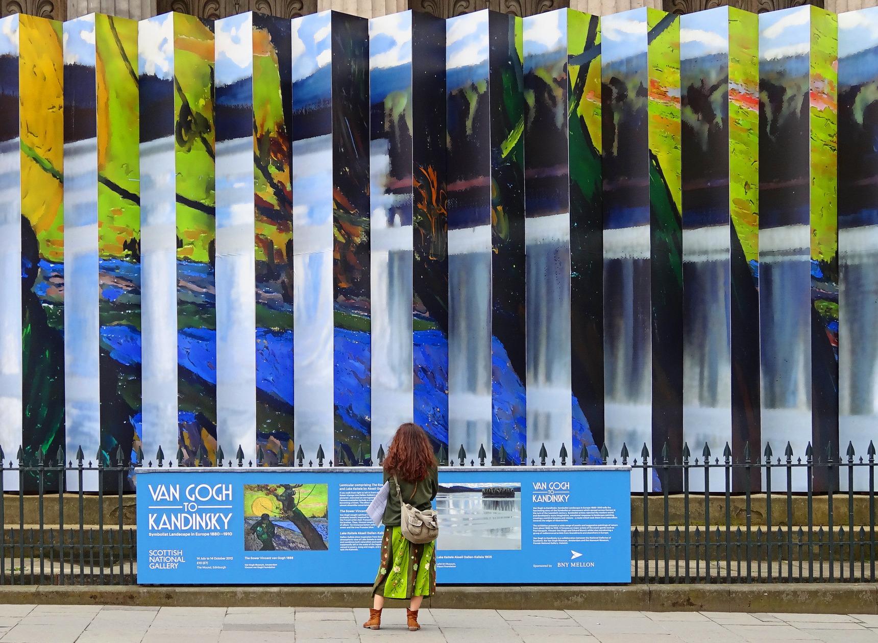 Van Gogh exhibition at the Royal Scottish Academy