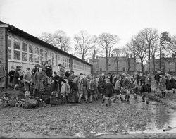 St Josephs Primary School Broomhouse in the 1950s.