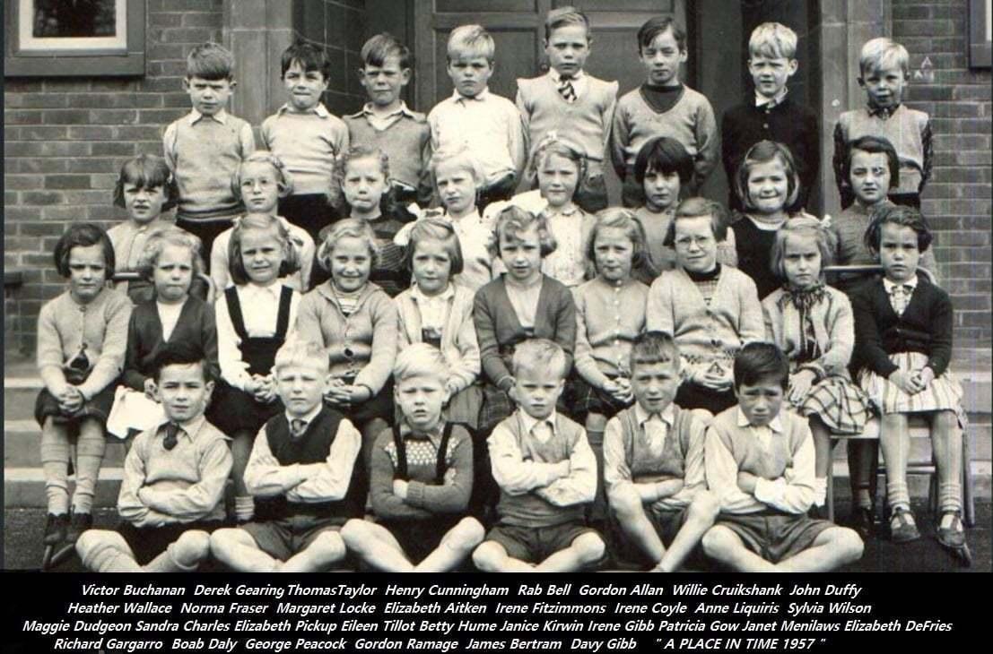 Broomhouse Primary School - Class of 1957
