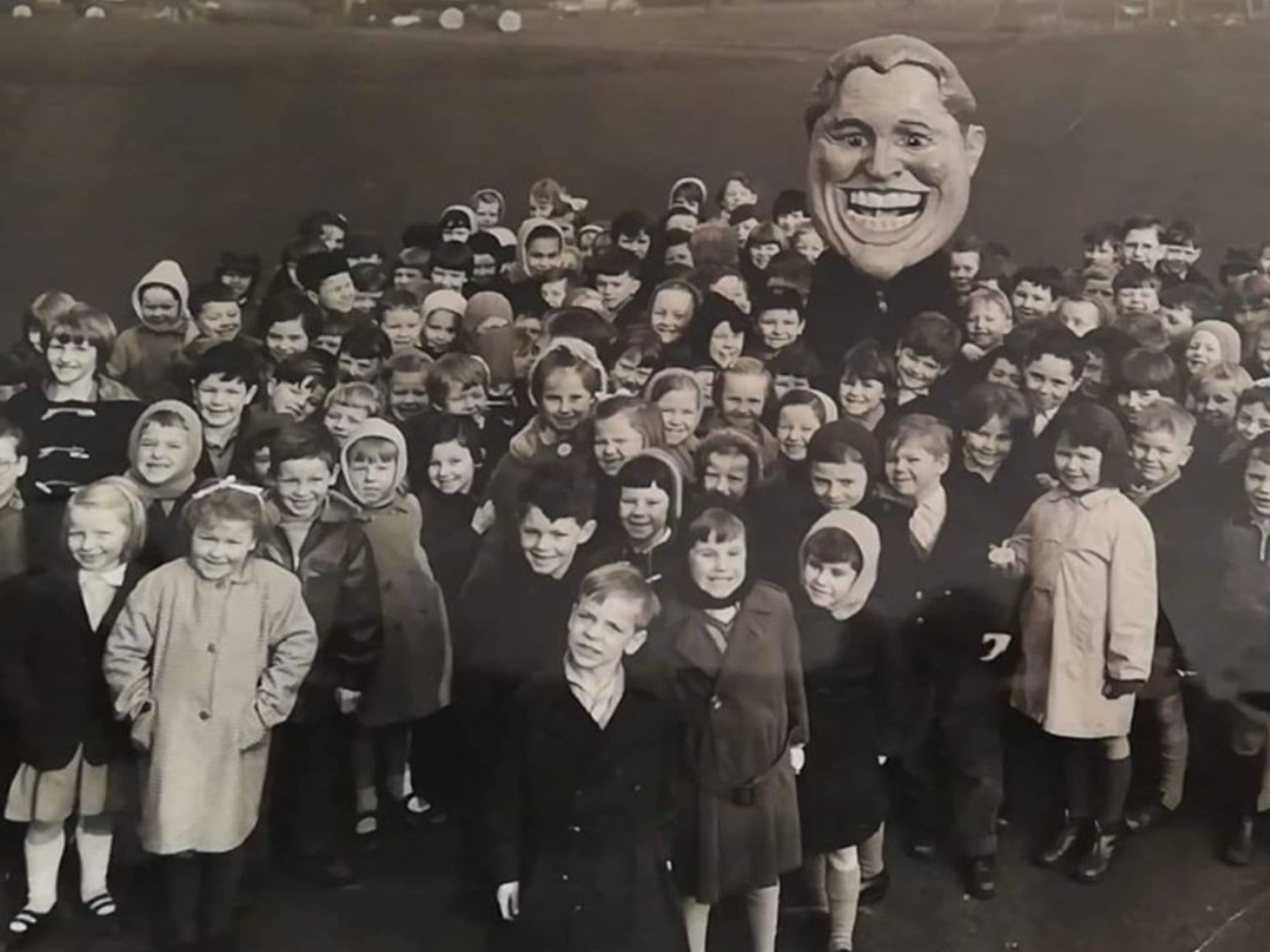 "Broomhouse Primary School - ""Happy Smile Day"" Early 1960s"