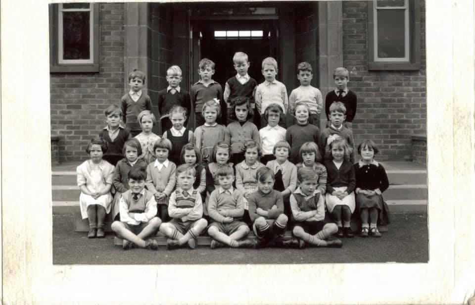 Broomhouse Primary School - Class of circa 1956/58