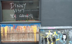 Dinny visit yer Granny!