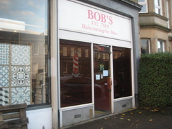 Bob's Hairdressing for Men opened in 69 Comely Bank Road, Stockbridge in 1975.