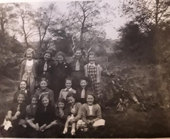 St Nicholas Church Brownies - 1949/50