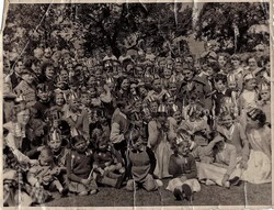 Coronation Day Celebrations in Broomhouse 1953