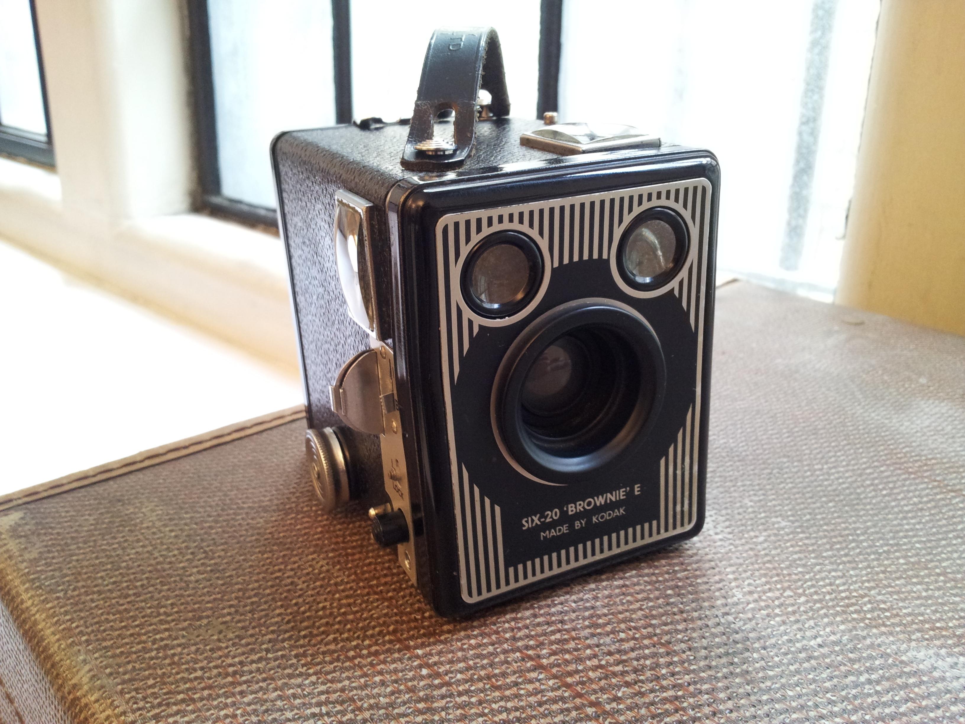 Box Brownie Kodak Camera