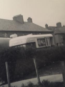 Ernies Ice Cream Van circa 1960