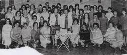 St Davids Church Womans Guild Broomhouse circa 1960