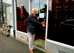 Thoughts for closing the Door after 45 years - It was happy but emotional.