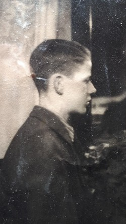 This is a side view of our Father aged 13 taken in Grudziadz, Poland.