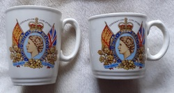 Coronation Mugs 1953