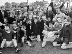 Broomhouse Primary School Sports Day circa 1961