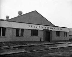 Sighthill Industrial Estate-Golden Wonder Crisp Factory 1960