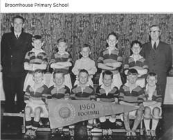Broomhouse Primary School Football Team 1960