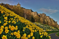 Sunrise at Edinburgh Castle
