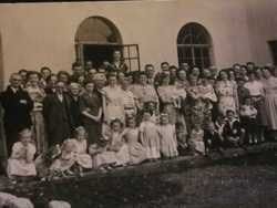 Unknown Social event in 1950s Sighthill