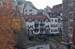 Dean Village on Water of Leith