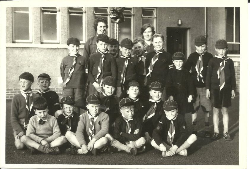 Broomhouse Primary School - 110th Gorgie Cub Pack 1950s