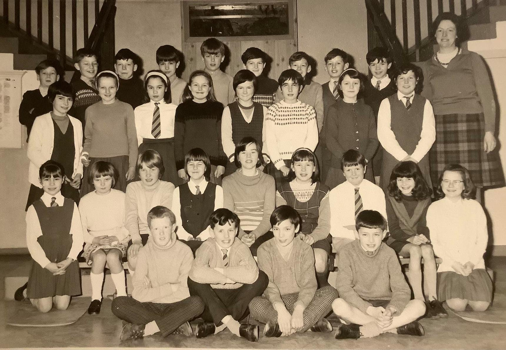 My first Teacher at Wester Hailes Primary in 1954/5