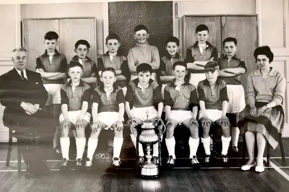 Murrayburn Football Team 1961/2 - Inspectors Cup Winners