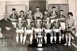Murrayburn Football Team 1961/2 - Inspectors Cup Winners