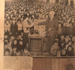 Murrayburn Primary School - Headmaster Retiral 1959