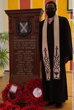 William Thynes War Memorial - St. Nicholas Church Sighthill