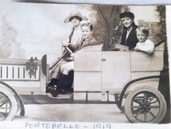 Portobello Car family photo