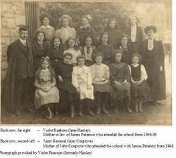 1908 pupils and teachers