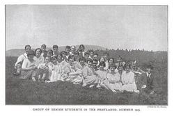 1925 Senior pupils in Pentland Hills