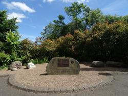James Hutton memorial garden