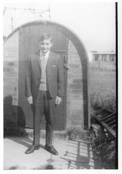 Anderson Shelter Coal Shed 1965