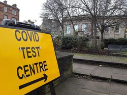 Covid test centre, Leith Library
