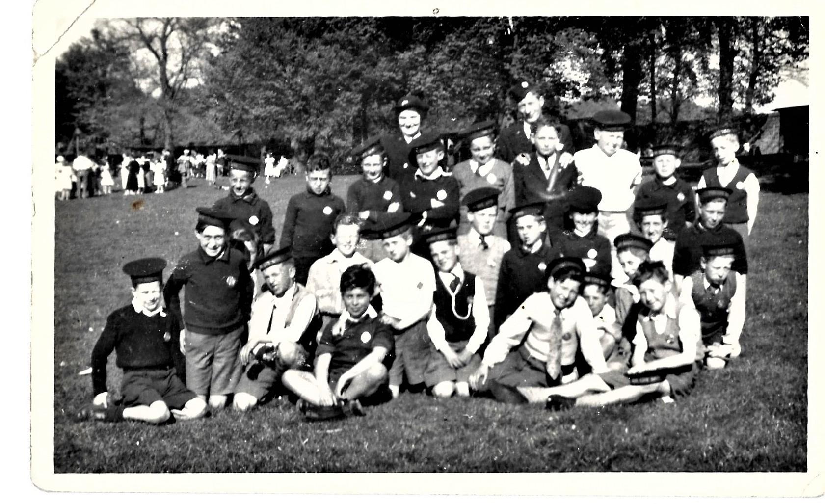 St Nicholas 43rd Boys Brigade 1953