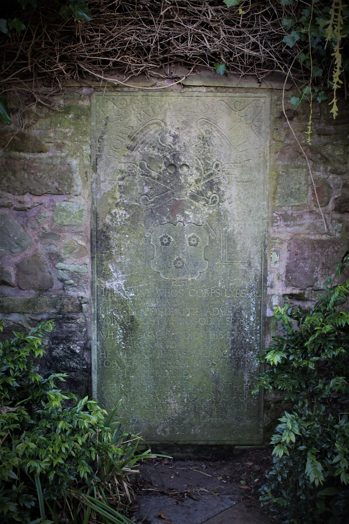 Gravestone of John Livingston