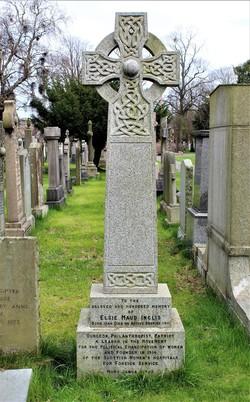 Gravestone of Elsie Inglis