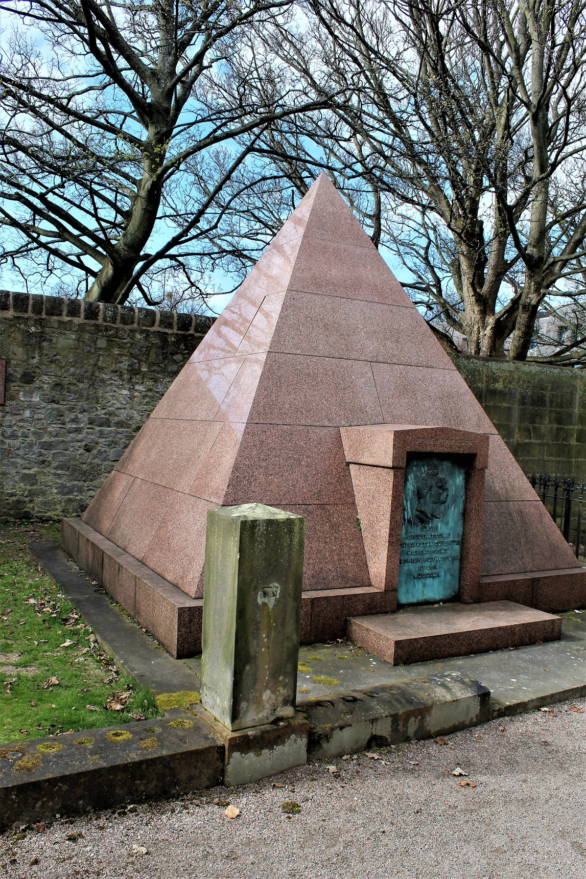 An unusual monument